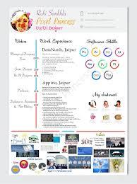 ui designer resume ux ui designer 2016 resume