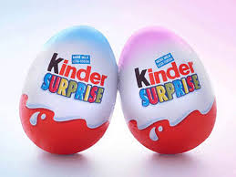 kinder suprise egg kinder in stereotyping row pink and blue eggs the