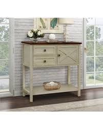 Farmhouse Console Table Get The Deal 12 Farmhouse Console Table Color Beige