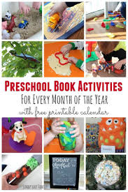 book inspired activities for preschoolers for every month of the
