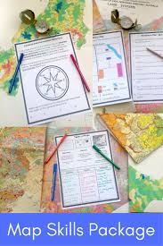 Map Of The United States With Compass by Best 25 Map Skills Ideas On Pinterest Teaching Map Skills Map