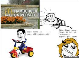 Hamburger Memes - hamburger university meme by ascutaru2 memedroid