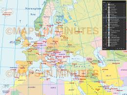 Austria World Map by Vector World Political Map In The August Epicycloidal Projection