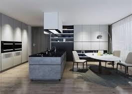 modern grey kitchen cabinets modern grey melamine kitchen cabinets suppliers and