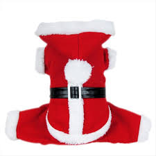 amazon com dogloveit santa christmas costumes pet dog cat xmas
