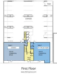 liquor store floor plans floorplans and pricing u2014 4321 grove