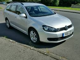 vw golf estate 2011 bluemotion tech 1 6tdi mk6 silver in leeds