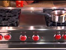 Wolf Gas Cooktops Gas Range Cleaning And Care Youtube