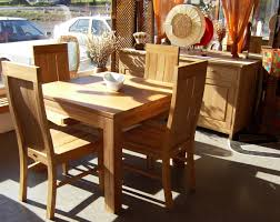 Natural Wood Dining Room Tables Dining Room Stunning Light Brown Tall Back Chairs Facing Small