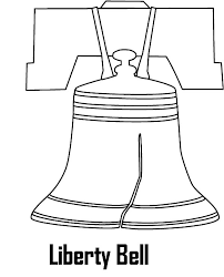 drawing liberty bell coloring pages batch coloring