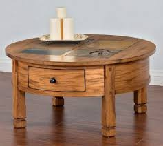 38 round coffee table sunny designs sedona collection 3143ro cr 38 round coffee table