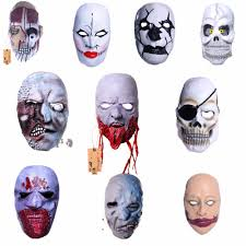 halloween clearence popular horror masks latex buy cheap horror masks latex lots from