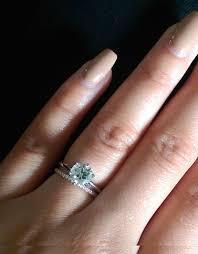 thin wedding bands thin band engagement ring 2017 wedding ideas magazine weddings