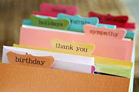 iheart organizing greetings card organization