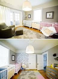 décoration de chambre pour bébé déco de chambre pour jumeaux