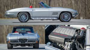 corvette lt1 this c2 corvette is powered by a 460 hp lt1 v8 from the c7