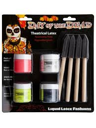 day of the dead mask red partynutters uk