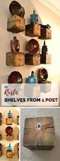 best 25 rustic shelves ideas on pinterest shelves shelving