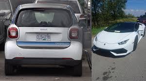 lamborghini smart car car2go smart car lamborghini impounded for excessive speed ctv