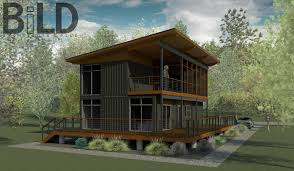 Container Homes Floor Plan Bild Architects Shipping Container House Design