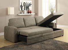 Small Sectional Sleeper Sofa Coaster Gus Charcoal Chenille Upholstery Small Sectional Storage