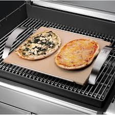 weber style 6430 pizza stone bbq guys