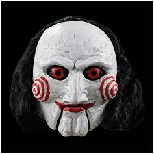 Halloween Mask Saw Billy Puppet Mask Halloween Mask Horror Mask Uk Stock