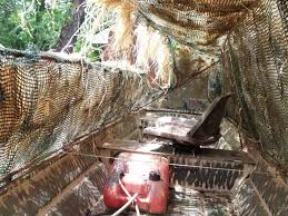 Metal Hunting Blinds How To Make A Duck Blind For Your Boat 101 Blind Ideas
