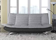 Fabric And Leather Sofa by Leather And Fabric Sofa Ebay