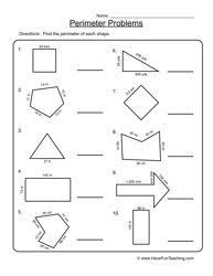 the 25 best perimeter worksheets ideas on pinterest kids math