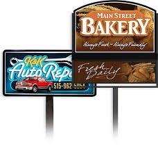 used outdoor lighted signs for business business signs by signtronix sign company