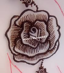 design flower rose drawing how to draw rose flower henna mehndi design step by step tutorial