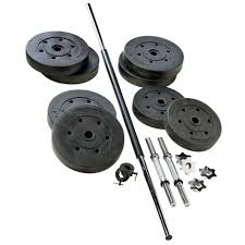 weider 110 lb vinyl weight set