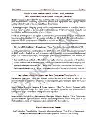 Director Of It Resume Vp Resume Samples Resume Sample 7 Vice President Resume Career