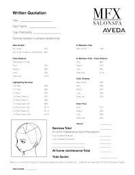 consultation form pdf avoid sticker shock hair color pricing problems and solutions bridalhaircotract bridalhaircotract site makeup