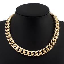 gold short chain necklace images Gold necklace chain for women clarajewellery jewelry jpg