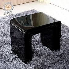 buy nest of tables schindora high gloss nest of 3 table black coffee table side table