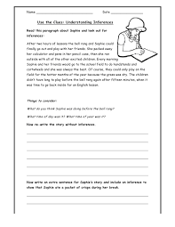 free printable inference worksheets stinksnthings