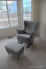 ikea hack strandmon rocker diy wingback rocking chair ikea