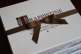 brown ribbon gift add a ribbon trappistine candy