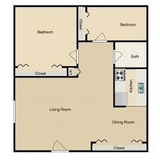 2 bedroom 1 bath floor plans skyline terrace availability floor plans pricing