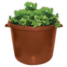 Patio Potato Planters 9 Gallon Potato Planter Grow Bag Chocolate Brown Bloem