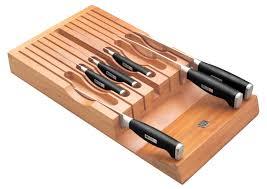 drawer knife storage wusthof grand prix ii wide in drawer 14 slot