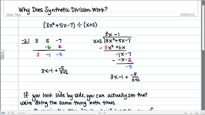 Dividing Polynomials Worksheet Synthetic Division Special Offers