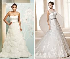 wedding dress shapes u0026 styles ballgowns to empire lines