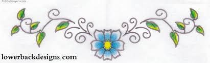 daisy flower tattoo design on back photos pictures and sketches