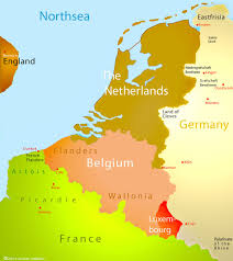 netherland map europe belgium and netherlands map major tourist attractions maps