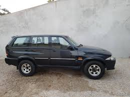 used ssangyong musso of 1999 190 000 km at 2 800 u20ac