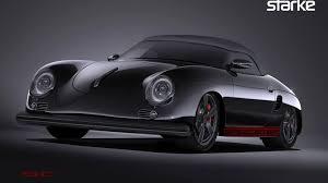 porsche classic speedster stärke revolution speedster turns boxster into modern 356 speedster