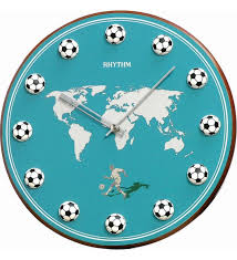 themed wall clock gift ideas for the football fanatic a football theme 3d wall